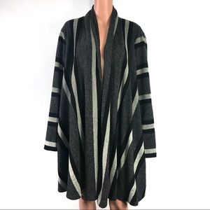 Threads Saks Fifth Avenue Wool Poncho XL
